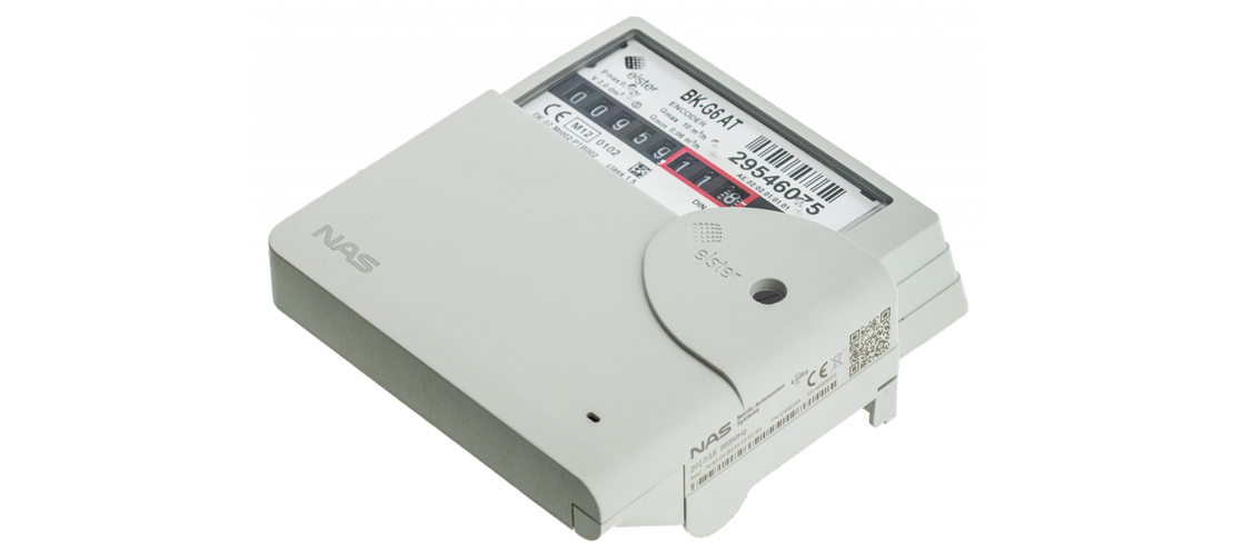 lorawan gas meter module for elster/honeywell meters