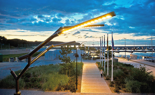 Intelligent Street Lighting System For The First Smart Marina In Northern Europe